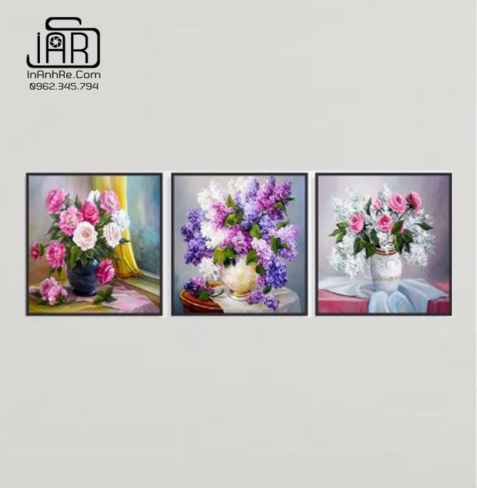 Tranh hoa mẫu đơn